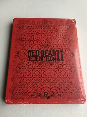 Red Dead Redemption 2 PS4 Xbox One STEELBOOK CASE, Brand NEW Mint Condition...