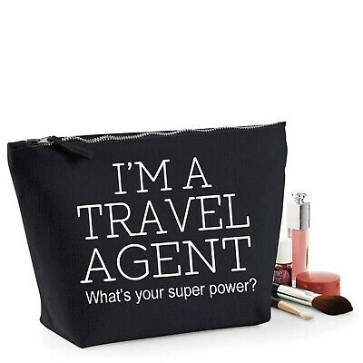 Travel Agent Thank You Gift Women's Make Up Accessory Bag Mothers Day