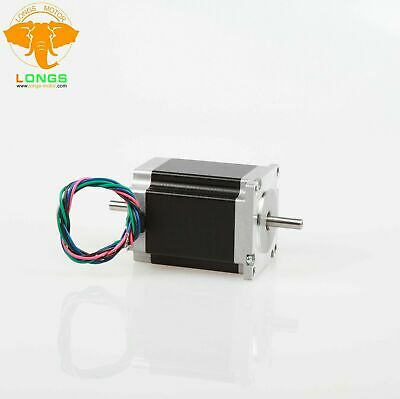 1PC Nema23 Stepper Motor 23HS8630B Dual Shaft 270oz 3A 76mm 6Lead