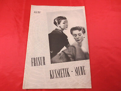 Frisur Kosmetik Mode 12 1952 Ondulation Kinderfrisuren Postiche