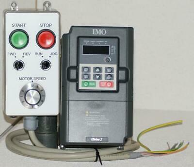 2hp/1500W IMO XKL Inverter & Remote Control Station Package - Ideal for Lathe