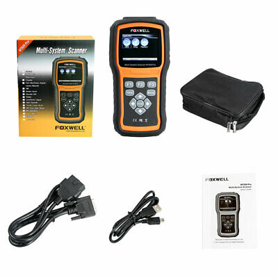 Foxwell NT520 Pro Multi-System Scanner Diagnostic Tool ABS SRS EPB Oil Reset