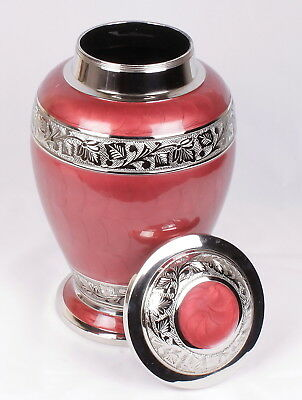 Large Cremation Urn for Ashes funeral memorial Urn Red urn adult ashes urn NEW