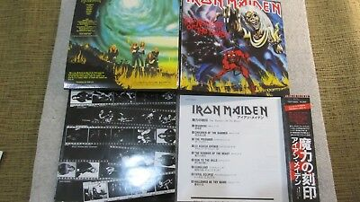 Iron Maiden .The Number Of The Beast. Cd.mini Lp. + Japan Obi