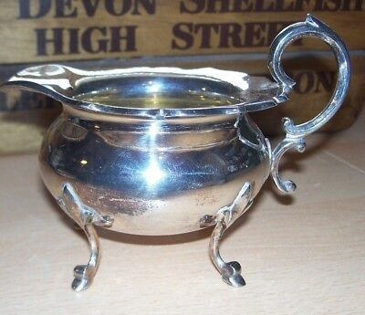 James Deakin & Sons - Silver Plated/EPNS - Cream/Milk Jug