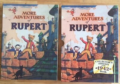 RUPERT FACSIMILE ANNUAL 1942 VERY FINE LTD EDITION in V FINE Slipcase