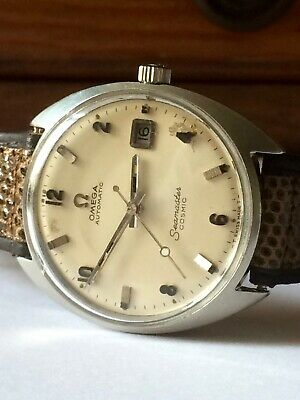 Automatic Cosmic Seamaster DateAnnées Omega 60'sRare Superbe mn08vNywO