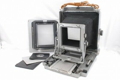 Toyo Field 4 3/4 X 6 1/2 Camera with 4X5 back*T092902