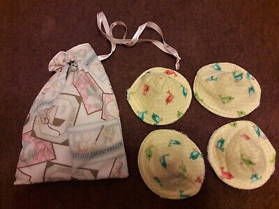 PeePee TeePee's. Set of 4 in satin lined drawstring bag.
