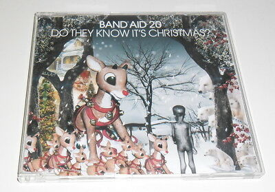 Band Aid 20 - Do They Know It's Christmas? - 2004 Uk 3 Track Cd Single
