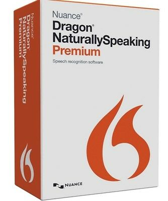 Nuance Dragon Naturally Speaking Premium 13 Full Version - Instant Download