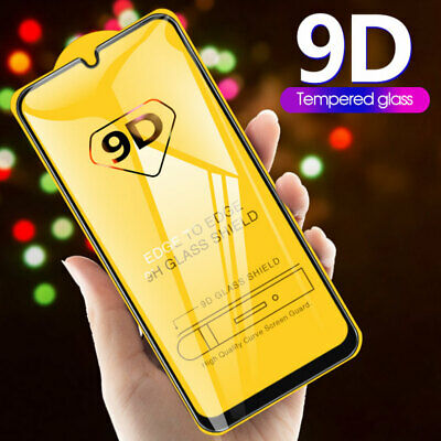 9D Tempered Glass Film Protector for Samsung Galaxy A50 A30 A40/ M10 M20 Screen