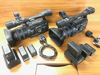 Canon XH A1 E Camcorder + 3 Batteries + charger