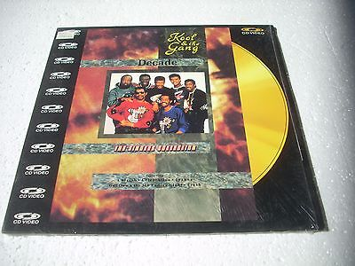 KOOL AN THE GANG / THE SINGLES COLLECTION  Europe Laserdisc Pal version
