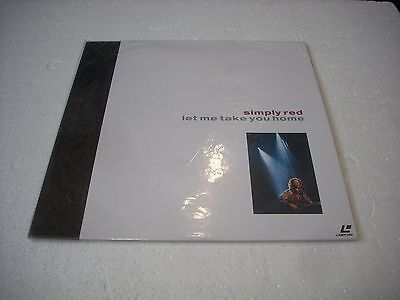 SIMPLY RED  / LET ME TAKE YOU HOME Japan Laserdisc