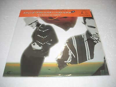 SWING OUT SISTER / IT'S BETTER TO WATCH - THE VIDEOS Japan Laserdisc
