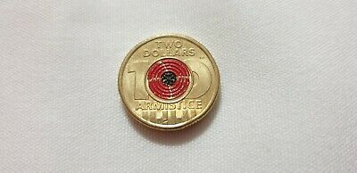 2018 Australian $2 Coin, Remembrance Day Armistice - Circulated