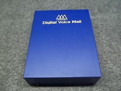 Vodavi Model DHD-02 Communication System Voice Mail Recorder NO HDD