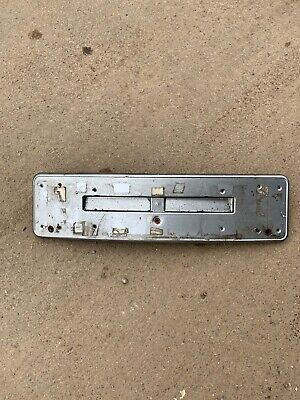 Genuine Bmw E46 Coupe Convertible Number Plate Holder Panel 8204367