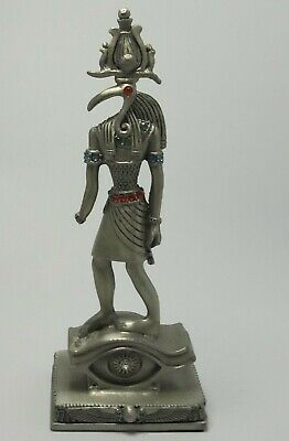 Ancient Egyptian pharaoh statue made of silver
