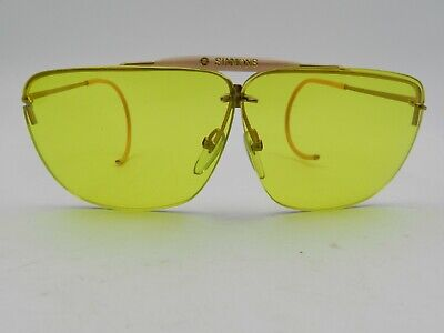 87fae2c35cb9 TASCO SPORT GLASSES Yellow Lenses Vintage Aviator hipster retro ...