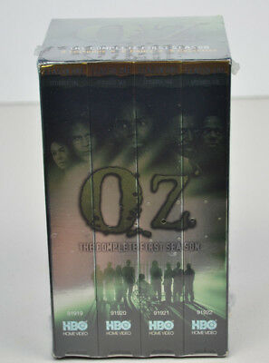 Oz - The Complete First Season VHS HBO NIB New in Box Sealed