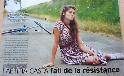 coupures de presse /LAETITIA  CASTA  / 4 pages/en 1999/ref. 66714