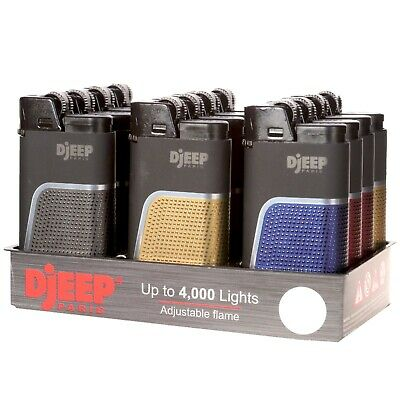 "12x Djeep ""Soft Touch"" Lighters, Original & Brand New, Same Day Express Shipping"