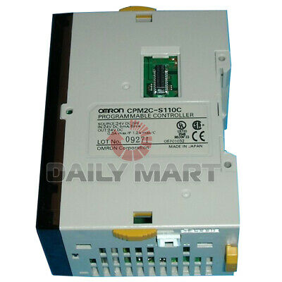 Used tested work 100% Omron CPM2C-S110C Programmable Controller
