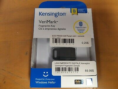 Kensington® VeriMark™ Fingerprint Key