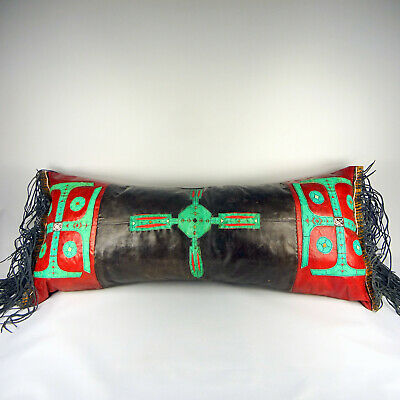 Niger Tuareg Touareg Altes Lederkissen Old Leather Cushion Coussin Vieux Cuir