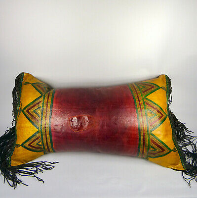 Niger Tuareg Altes Lederkissen Old Leather Cushion Coussin  Cuir وسائد من الجلد