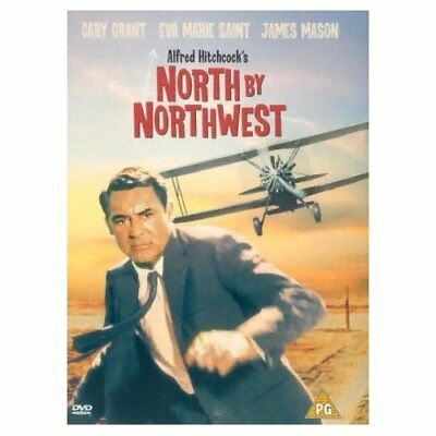 Hitchcock's North By Northwest (DVD) Man chased bi-plane!