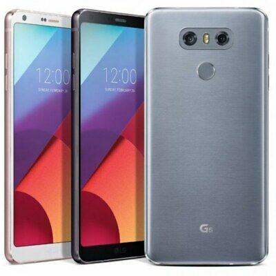 LG G6 32GB H871 - Ice Platinum,Astro black (Unlocked) AT&T Smartphone New SEALED