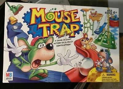 Game Mouse Trap Family Board Game,  2005 Milton Bradley Hasbro Ages 6+