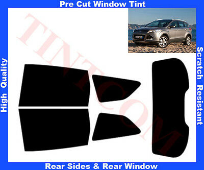 PSSC Pre Cut Sun Strip Car Window Films fits for Ford Kuga 2013 to 2016 70/% Very Light Tint
