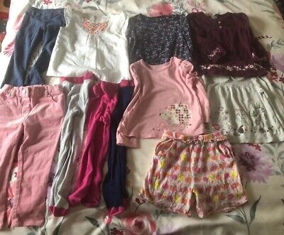 Bundle of Baby Girls Clothes 18 - 24 Months TU Sainsbury's M&S Used