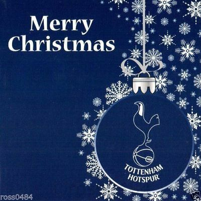 Tottenham Hotspur FC Christmas Card Bauble Design - New Official Product