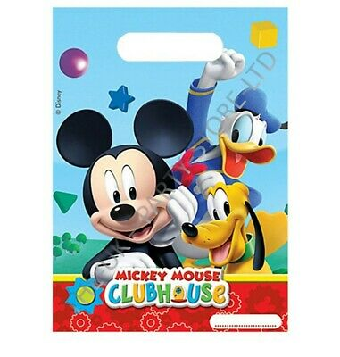 MICKEY MOUSE CLUBHOUSE PARTY LOOT BAGS Birthday Party Supplies Gift Pack Kids