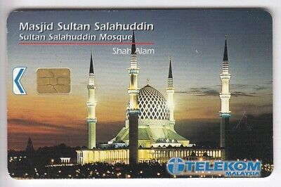 Asie  Telecarte / Phonecard .. Malaysie 10Rm Tkm Shah Alam Mosquee Chip/Puce