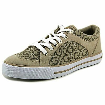 31a818f727e48 G BY GUESS Womens Chai Low Top Lace Up Fashion Sneakers, White, Size ...