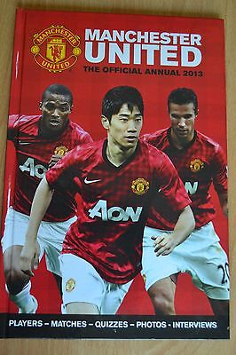 Manchester United FC Football Club Annual 2013