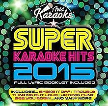 Super Karaoke Hits 2015 by Various, Taylor Swift | CD | condition very good