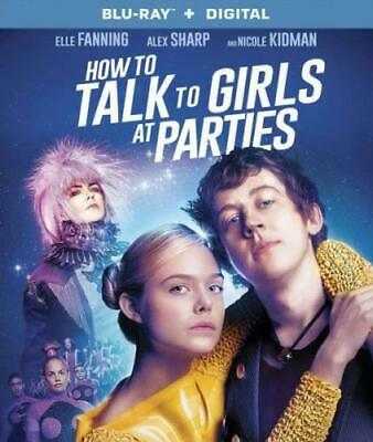 HOW TO TALK TO GIRLS AT PARTIES (Region A BluRay,US Import,sealed.)