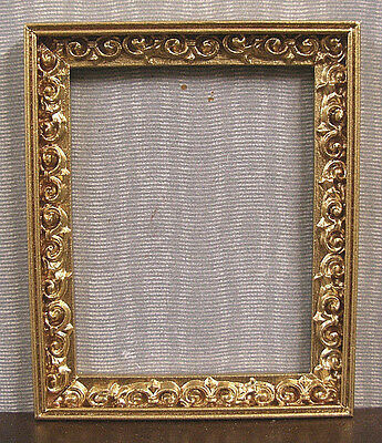 FRAMED  PICTURE ~ Jim Coates ~  Dollhouse Miniature ~ 1:12 scale ~ Room Box