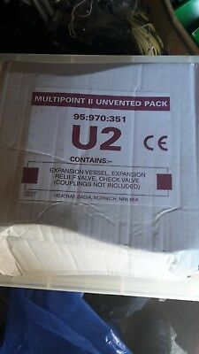 Heatrae Sadia Multipoint U2 Unvented Pack 95-970.351