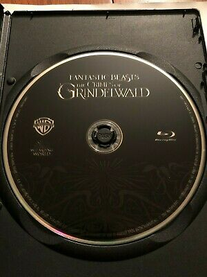 Fantastic Beasts: The Crimes of Grindelwald (Blu-ray Disc ONLY) w/ BLANK CASE!