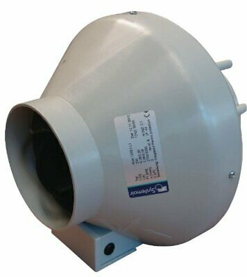 Systemair RVK Sileo RVK 125E2-L1 323m3/hr Extractor Fan (125mm) Hydroponics New