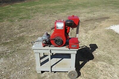 Vintage Wisconsin Aen  Air Cooled Engine Motor ****Runs*****