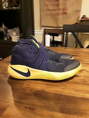 796fd280e1 Nike Kyrie 2 Cavs Play offs Edition Sneakers Midnight Navy 819583-447 Sz 11  GUC